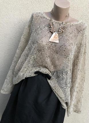 Блуза,рубаха,кофточка сетка,большой размер,этно бохо стиль