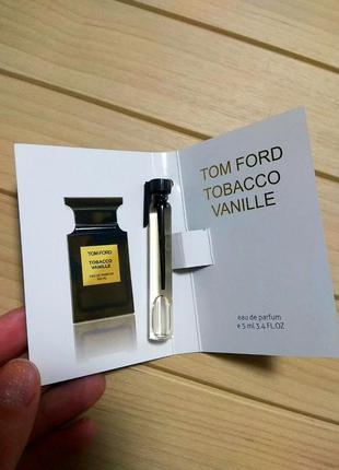 Духи парфюм аромат пробник tobacco vanille от tom ford ☕ объём 5мл
