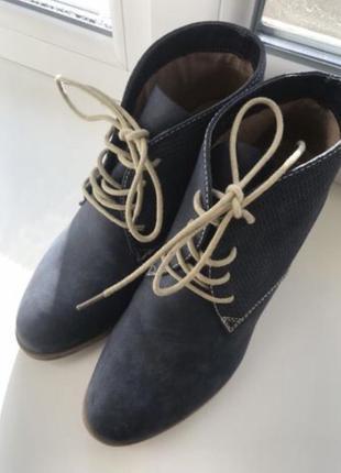 Стильные ботинки осень
