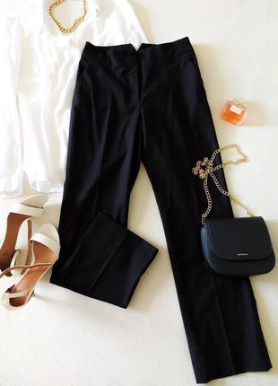 Классические прямые брюки с эффектным поясом h&m