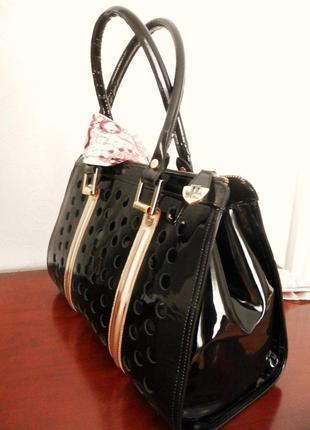 Дизайнерська шкіряна сумка loriblu, оригінал італія