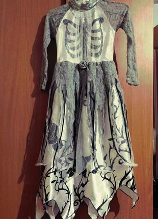 Платье для хеллоуина.