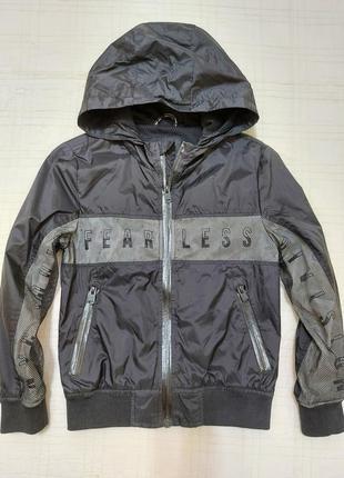 Cool cat крутая куртка/бомбер/ ветровка р.122-128/в новом состоянии/на подкладке