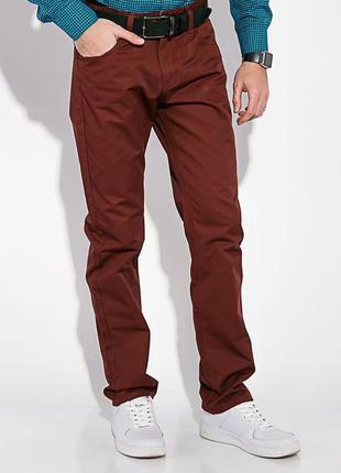 Стильные прямые брюки