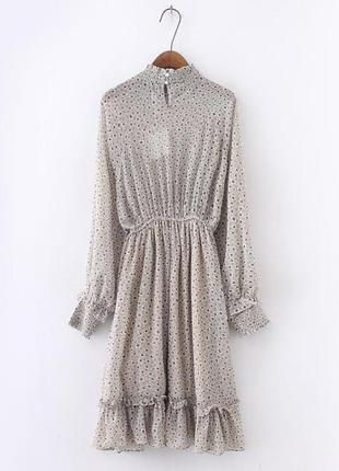 Шифонова сукня в стилі zara