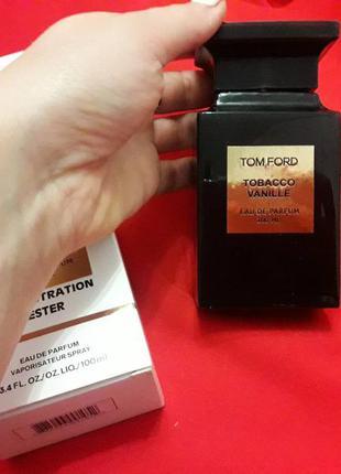 Огромный выбор парфюмерии тестер tom ford tobacco vanille 100 мл
