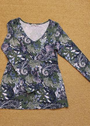 Лонгслив пуловер реглан кофта кофточка блуза футболка длинный рукав tom tailor