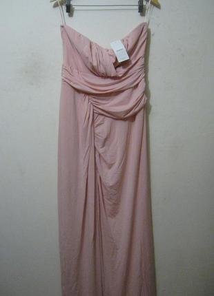 Платье до пола mango новое на подкладке арт.000