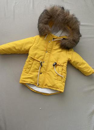 Зимова куртка, парка