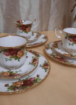 Кофейные троечки royal albert