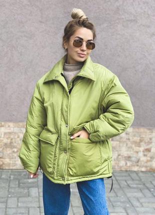 Очень тёплая зимняя куртка ❄️😍4 цвета❤️