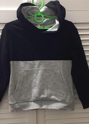 Толстовка худи свитер h&m на мальчика 4-6 лет