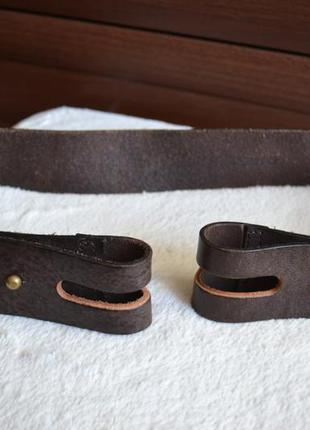 Diesel кожаный ремень пояс оригинал