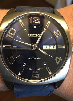 Часы мужские seiko recraft snkn37 automatic механика с автоподзаводом
