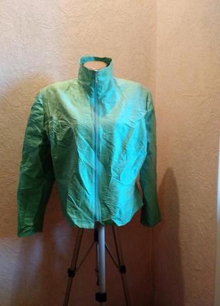 Куртка /накидка 100%шелк *чесуча*/скандинавский стиль