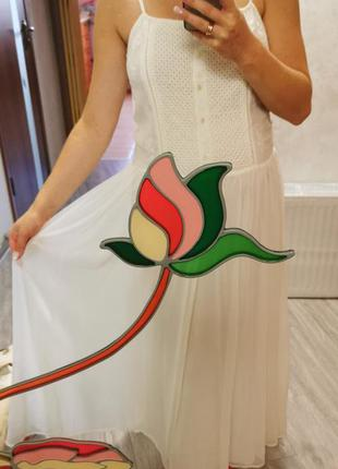 Супер платье белое