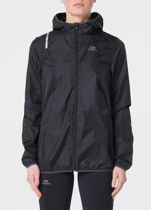 Куртка ветровка дождевик deccathlon kalenji run wind р. 48-50