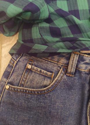 Джинсовая юбка с высокой посадкой 🔝