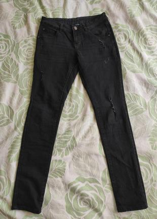 Джинси esmara з рваностями, розмір 38 (29/32), джинсы