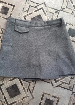 Твидовые шорты