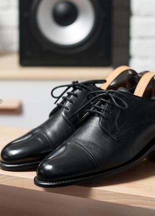 Дербі van lier, голландія туфлі чоловічі чорні шкіряні