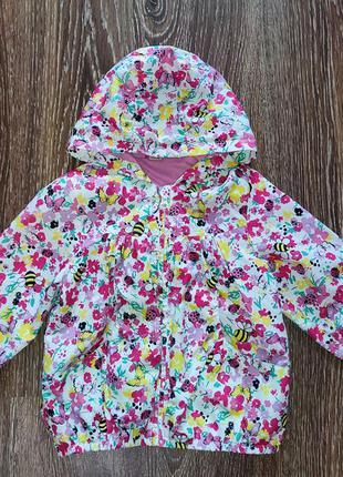 Вітровка ветровка куртка для дівчинки tu 3-4р 98-104см