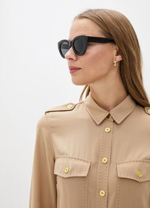 Mango очки, окуляри, сонцезахисні, солнцезащитные, леопардові, леопардовые, квадратные
