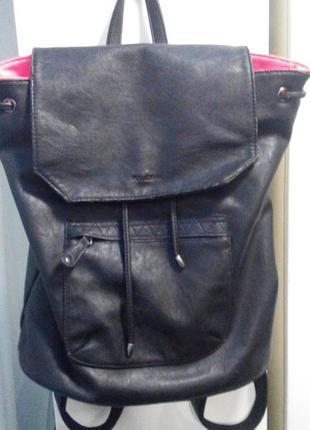 Рюкзак кожанный pull&bear