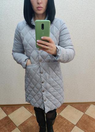 Пальто стеганное,