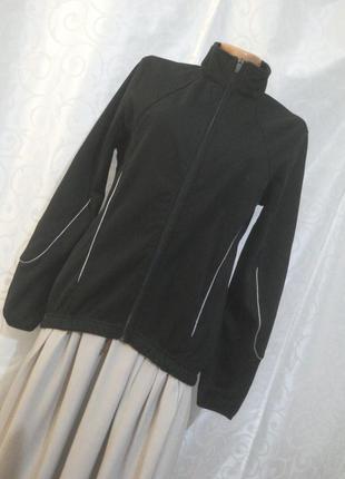 Очень крутая, термо куртка, софтшел, велосипедка!