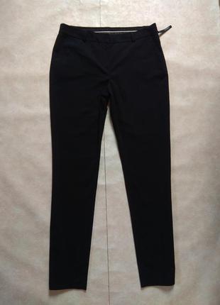 Классические черные штаны брюки со стрелками yessica, l pазмер.