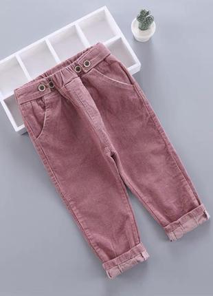Очень стильные вельветовые штанишки!цена 420 грн