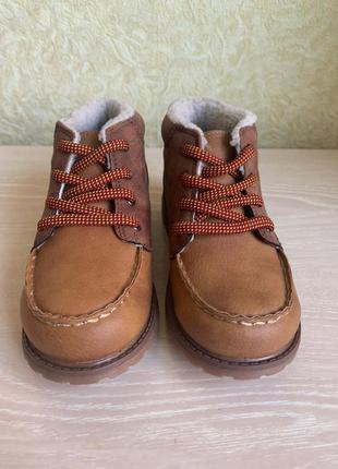 Ботинки для мальчика осень еврозима