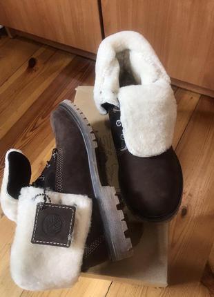 Женские, зимние ботинки timberland