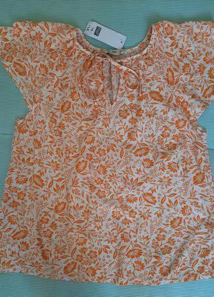 Новая блуза из вискозы
