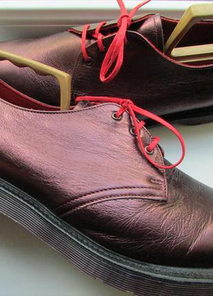 Туфли оригинальные dr. martens 1461 кожа длина по стельке 30,5 см