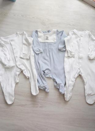 Пакет вещей на новорожденного ребенка