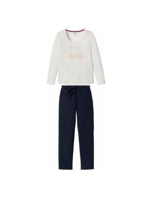 Комплект для дома, отдыха  домашний костюм. пижама esmara