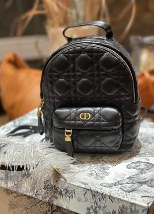 Кожаный рюкзак christian dior