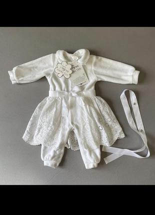 Tigres x andre tan комбінезон-плаття еліт на виписку і хрещення дівчинки
