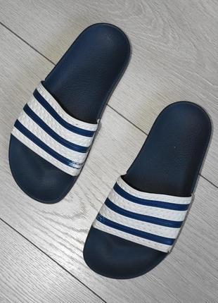 Шлепки сланцы шлепанцы тапки тапочки adidas оригинал размер 37 стелька 22,5 см адидас
