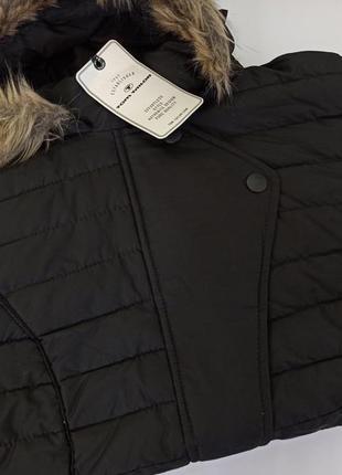 Tom tailor курточка женская черная.брендовий одяг stock