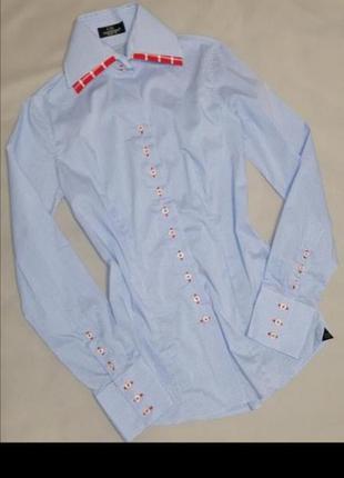 🟥 женская рубашка в клетку хлопок