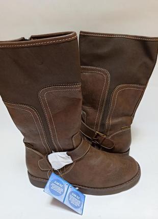 Slam tex сапоги женские коричневые.брендовая обувь stock