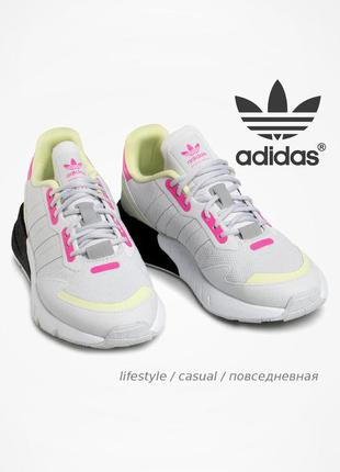 Яскраві кросівки adidas zx 1k boost 💯 оригінал!