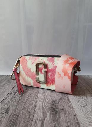 Кожаная сумка marc jacobs snapshot