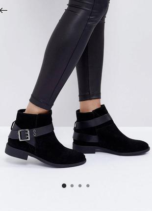 Замшевые ботинки asos