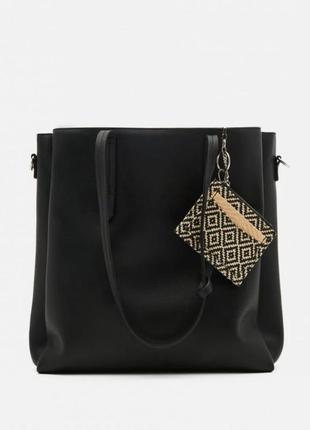 Вместительная сумка,  шоппер,  сумка с длинным ручками