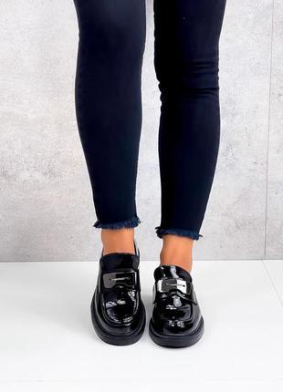 Туфли лоферы 38 р. 24,5 см