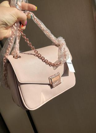 Новая сумка aldo london брендовая cross body оригинал через плечо на цепочке